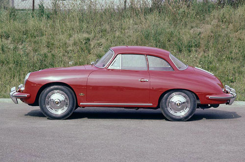 Porsche 356 B Coupé Hard-top