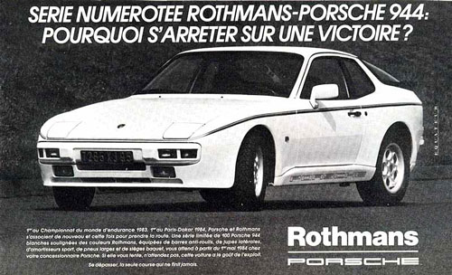 Porsche 944 Rothmans