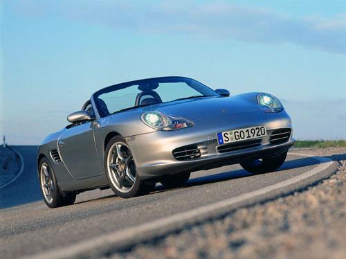 Porsche Boxster 50 Jahre spyder 550