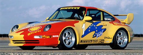 Porsche 911 Carrera Cup 3.8
